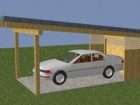 Carport in Viktring